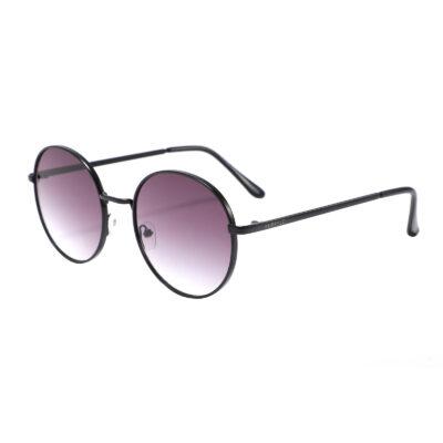 Atlantic 3650-1 Round Tinted Sunglasses Brown/ Purple Gradient