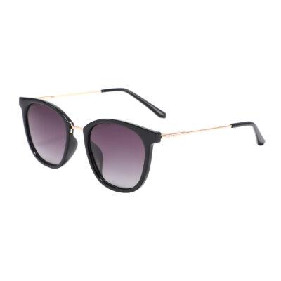 Pomona 6825-1 Classic Polarized Tinted Sunglasses Brown/ Purple Gradient