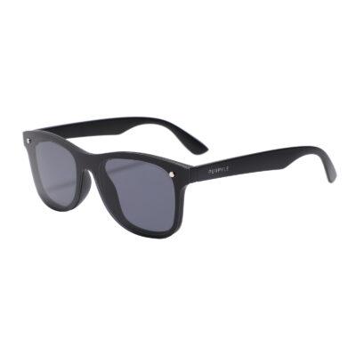 Marin 7001-1 Frameless Classic Tinted Sunglasses Black