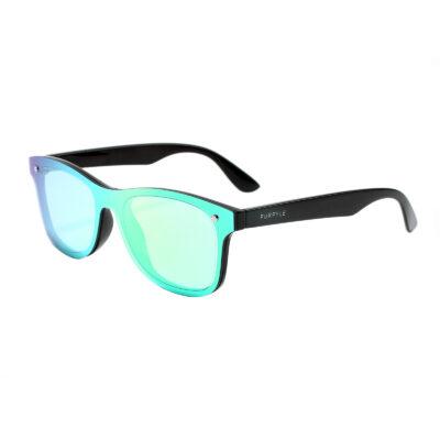 Marin 7001M-1 Frameless Classic Mirrored Sunglasses Green