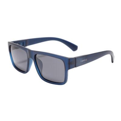 Sarasota 4380-4 Square Polarized Tinted Sunglasses Black