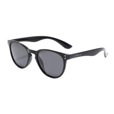 Coral 9266-1 WFR Classic Polarized Tinted Sunglasses Black