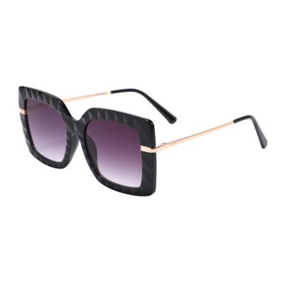 Houston 5805-3 Square Oversized Tinted Sunglasses Purple Gradient