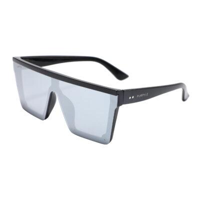 Broadway 4371M-2 Rectangular Mirrored Sunglasses Gray