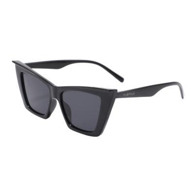Lexington 95088-1 Cat Eye Tinted Sunglasses Black
