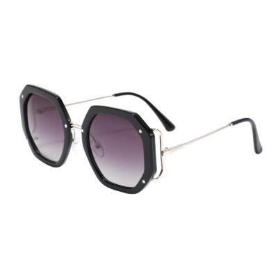 Victory Blvd 95234-1 Octagon Tinted Sunglasses Black Gradient