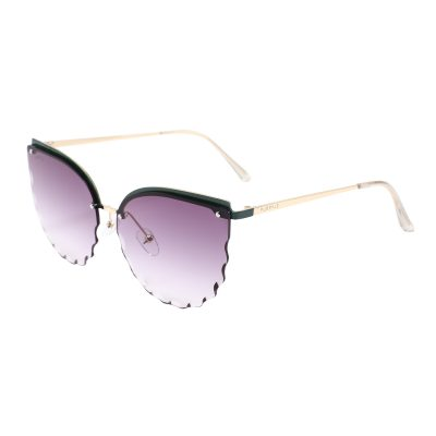 Park Ave S3013-3 Butterfly Tinted Sunglasses Purple Gradient